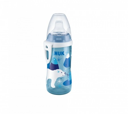 NUK First Choice Active Cup 300 ml modrá